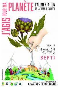Affiche festival J'agis pour ma Planète 2019
